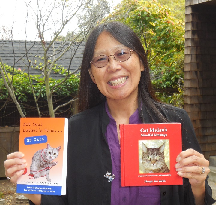 Cat Mulan author & cat anthology creator Margie Yee Webb
