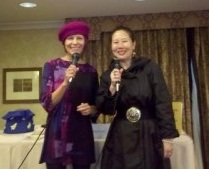 Elisa Sasa Southard and Teresa LeYung-Ryan