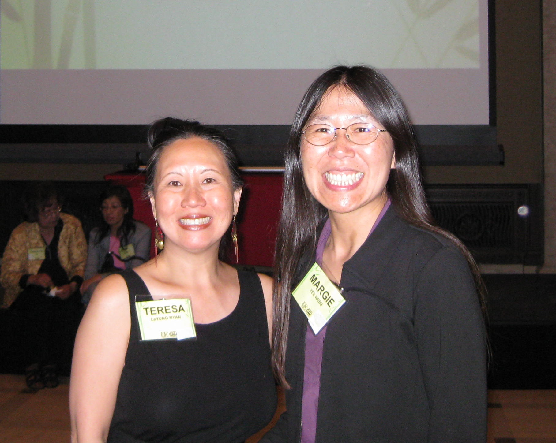 authors Teresa LeYung-Ryan and Margie Yee Webb photo by Lyle Ryan