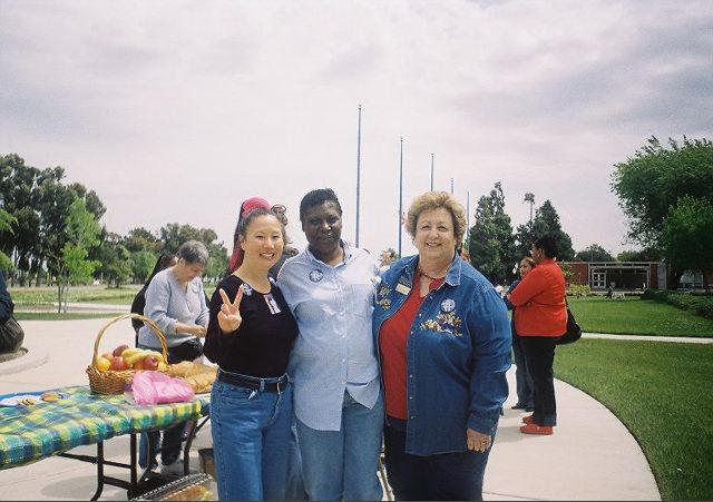 Teresa LeYung Ryan & Cynthia Peterson of Community Violence Solutions & Phyllis on Denim Day