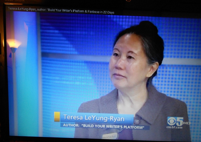 Click on photo Writing Coach Teresa on Channel 5 Bay Sunday