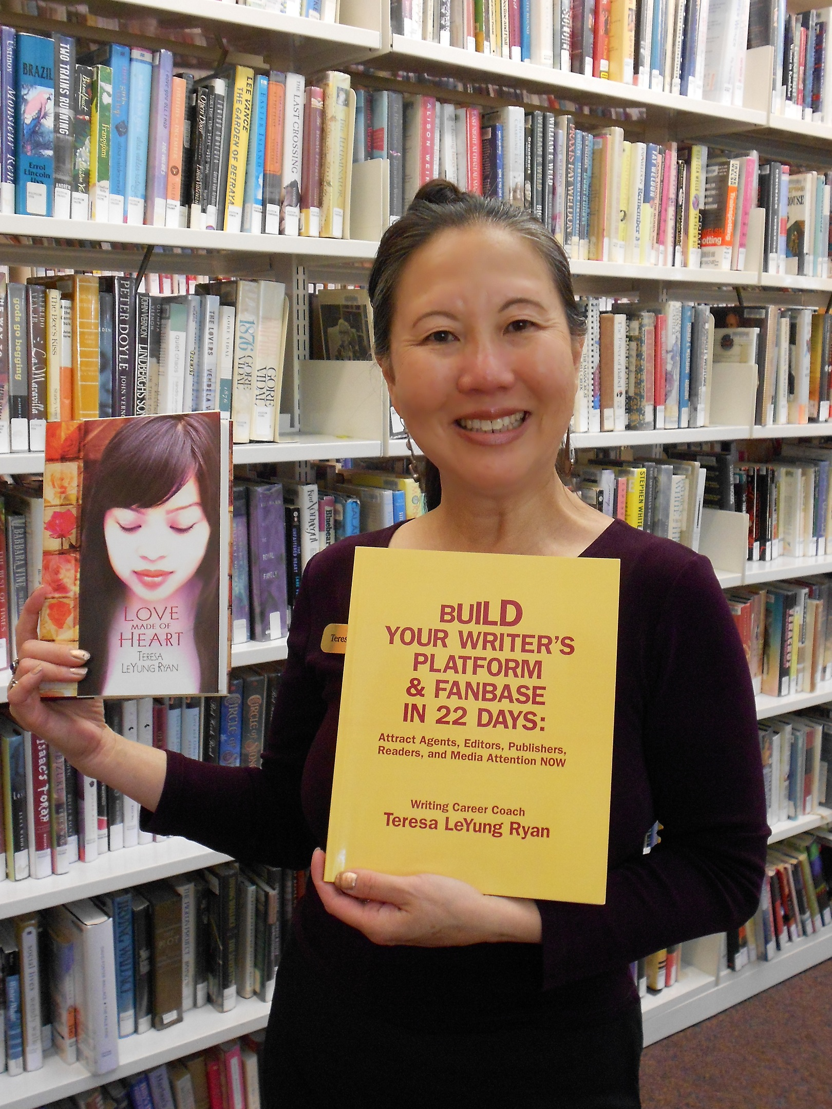Teresa LeYung-Ryan, writing coach and author
